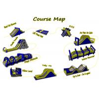 Buy cheap Adult Inflatable Obstacle Course / Inflatable 5k Obstacle Course from wholesalers