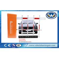 Buy cheap Highway Toll Parking Barrier Gate DC24V Motor 3000 R / Min With Round Barrier Arm from wholesalers