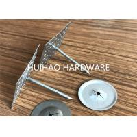 Buy cheap Perforated Type Insulation Anchor Pins with Aluminum Nails 3mmx110mm from Wholesalers