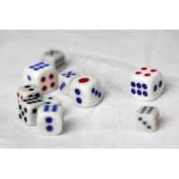 Buy cheap Plastic Omnipotent Dice Cheating Device with Mercury , Casino Craps Dice from Wholesalers