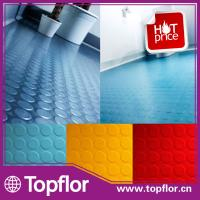Quality Rubber coin flooring tile for hospital/office/hall wholesale