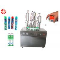 Quality Auto Aerosol Can Filling Machine For Pesticide Insecticide , Aerosol Packaging Machine wholesale