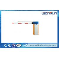 Quality RS485 Communication Interface Automated Barrier Gate for Car Parking System for sale