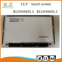 "Quality B133HAK01.1 B133HAK01.2 AUO 13.3"" IPS Touch Panel EDP Interface 1920*1080 wholesale"