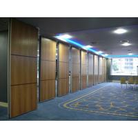Buy cheap Sound Proofing Movable Wooden Foldable Partition Wall High Durability from wholesalers