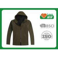 Warm Tactical Hunting Fleece Clothing Softshell For Autumn / Winter