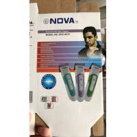 Buy cheap NHC-8010 Electric Cordless Hair Clipper Rechargeable Hair Trimmer NOVA Trimmer from wholesalers