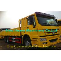 Buy cheap WITH ISO CCC APPROVAL SINOTRUK  Yellow Heavy Cargo Trucks  HOWO 6 X 4 CARGO TRUCK 336HP Euro II 40T from Wholesalers