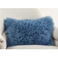 Luxury 100% Real Mongolian Fur Pillow For Home Bedroom Decorative 12
