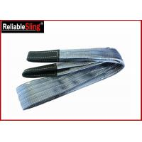 Buy cheap Polyester Flat Double Eye Webbing Sling Color Code Lifting Sling Single Ply Or Double Plies from wholesalers