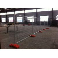 Buy cheap Zinc Coated Lightweight Temporary Fencing For Building Sites 2100mmx2400mm from Wholesalers