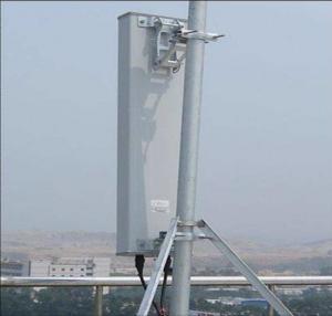 Buy cheap 18dbi Gain CDMA2000 Base Station Antenna Pole Mounted 350 Watt Power from wholesalers