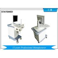 Buy cheap Black And White Mobile Trolley Ultrasound Scanner , Ultrasound Cart 15 Inch LED Displayer from wholesalers