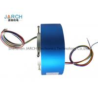 Buy cheap Rotary Index Tables 90mm Through Bore Rotary Slip Ring with Minimal Electrical Circuit Noise from Wholesalers