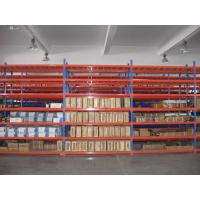 Buy cheap OEM Accepted Medium Duty Shelving For Warehouse With High Strength Closed Steel Panel from wholesalers