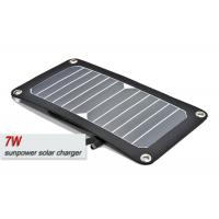 China 7w Portable Solar Panel Charger Easy Carrying And Storage With USB 2.0 Port on sale