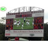 Buy cheap P6 Outdoor Electronic Stadium LED Display Scoreboard Large LED Screen from Wholesalers