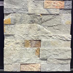 Natural stone Slate Culture Stone Grey Quartzite Culture Stone, Ledge Panel