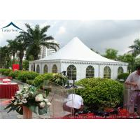 Buy cheap Arabic Style White PVC Pagoda Tents  White Outdoor Tent Over 200 People from Wholesalers