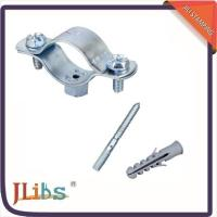 Buy cheap Cast Iron Horizontal / Vertical Pipe Support Clamps For Ceilings Floor Mounting from Wholesalers
