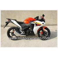 Buy cheap Red White Air-cooled Honda CBR150 Two Wheel Drag Racing Motorcycles For Men from Wholesalers