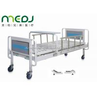 Buy cheap Home Care Manual Hospital Bed MJSD06-04 With Aluminum Alloy Side Rail from Wholesalers