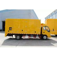 DC24V Electrical Starting Truck Mounted Generator Sets 250kW 9100 * 2500 * 3500mm