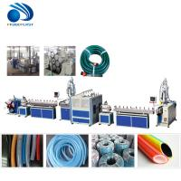 Buy cheap PVC soft flexible garden hose tube pipe production line / PVC Water pipe machine from wholesalers