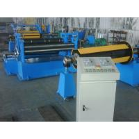 Buy cheap 50HZ / 3PH Steel Coil Slitting Line Machine for Stainless Steel Sheet from Wholesalers