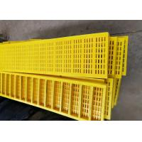 Buy cheap 300mm Width Polyurethane Screen Mesh For Dewatering Of Broken Aggregates from wholesalers