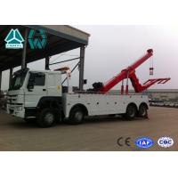 Buy cheap SINOTRUK HOWO 6x4 Heavy Duty Wrecker Tow Truck For Car Accident from wholesalers