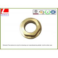 Quality High Speed milling machined parts brass nut used for eye tracking system wholesale