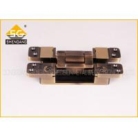 Buy cheap 3D Invisible Hinges Exterior Door Three Way Hinge , Hidden Hinges For Cabinets from Wholesalers
