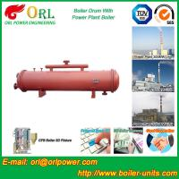 Buy cheap Bucket central heating boiler mud drum ISO9001 from wholesalers