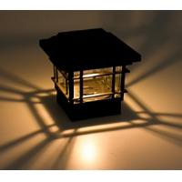 Buy cheap ECO Friendly Solar Post Cap Lamp 150 Lumens Quick Installation For Garden Yard from Wholesalers