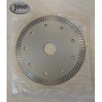 Quality 115mm Diamond Hot Pressing Turbo Saw Blade for Cutting Ceramic Tile wholesale