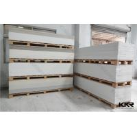 Buy cheap Custom OEM UPR Artificial Marble Acrylic Sheet Interior Faux Stone from Wholesalers