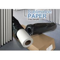 Buy cheap shandong factory supply newest dye sticky roll sublimation transfer printing paper for textile sportswear t shirt from wholesalers