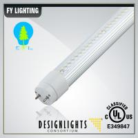 China UL DLC  18W 1200mm LED Tube Light T8 With Ballast Compatible 100-277V 110LM/W on sale
