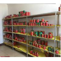 Buy cheap 28-30% brix canned tomato paste 4.5kgs hard open with high quality and competitive price from wholesalers