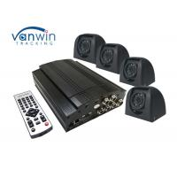 Buy cheap Surveillance 4 Channel Mobile DVR , 2TB Video Recorder System For School Bus from Wholesalers