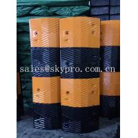 Buy cheap Reflective rubber speed hump Molded Rubber Products road speed ramp from Wholesalers