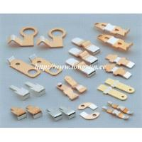 Buy cheap Brass Parts Of Welding Machine / Electrical Stamped Metal Parts For Starter from Wholesalers