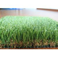 U Shape Landscaping Artificial Grass For Patio 10 Years Warranty
