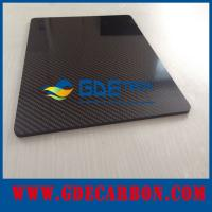 Buy cheap Glossy Twill Woven 3K carbon fiber broad, carbon fiber panel, carbon fiber sheet from Wholesalers