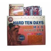 Buy cheap Hard Ten Day Sex Product Sex enhancers Healthcare supplies for penis enlargement from Wholesalers