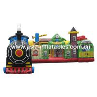 Buy cheap Inflatable Blizzard Beach Snow Lodge,  Inflatable Fun Lands Games For Kids from Wholesalers