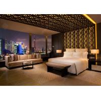 Buy cheap Luxury Apartment Furniture Sets / Wooden Hotel Style Bedroom Furniture from Wholesalers