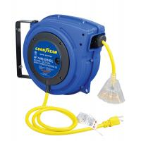 Buy cheap 25' Goodyear Hose Reel Spring Driven Cable Reel 14/3 SJTOW Cord Type from wholesalers