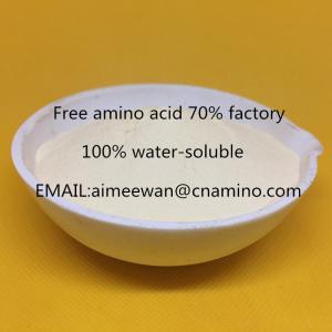 Buy cheap Hot sales plant origin amino acid 70% powder  factory from wholesalers